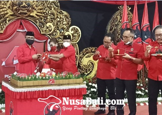 Nusabali.com - megawati-ingatkan-jangan-ada-kader-pdip-punggungi-rakyat