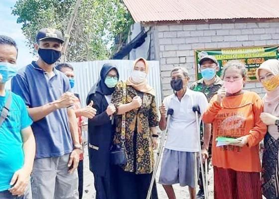 Nusabali.com - tni-bedah-rumah-nelayan-disabilitas