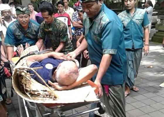 Nusabali.com - terpeleset-kakek-jatuh-ke-jurang