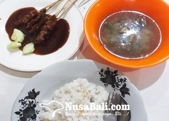 Nusabali.com - sate-plecing-mak-lukluk-kuliner-andalan-khas-bali