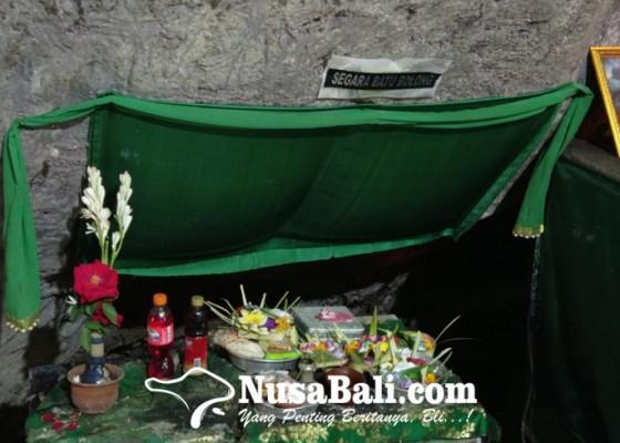 Nusabali.com - air-mengalir-di-areal-pura-ada-persimpangan-segara-batu-bolong