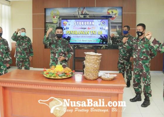 Nusabali.com - hut-ke-70-penerangan-tni-ad-digelar-sederhana