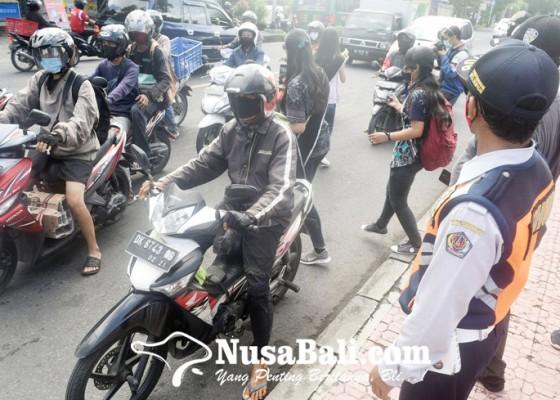 Nusabali.com - denpasar-kantongi-rp-829-juta-dari-denda-masker