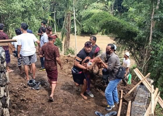 Nusabali.com - proyek-senderan-longsor-1-tewas-2-selamat