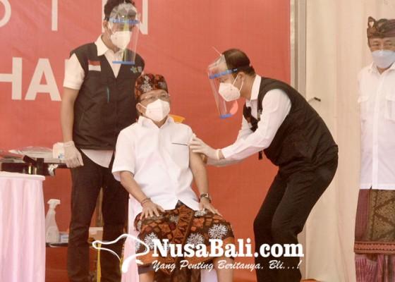 Nusabali.com - koster-ajak-masyarakat-tak-ragu-vaksinasi-covid-19