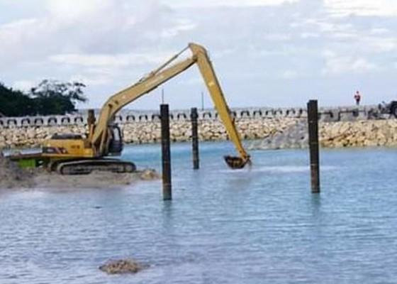 Nusabali.com - pengerjaan-pelabuhan-sampalan-nusa-penida-capai-51-persen
