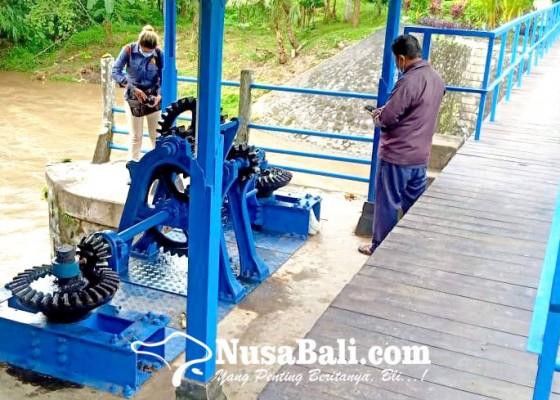Nusabali.com - pdam-keluhkan-material-pasir-dan-lumpur-di-tukad-ayung