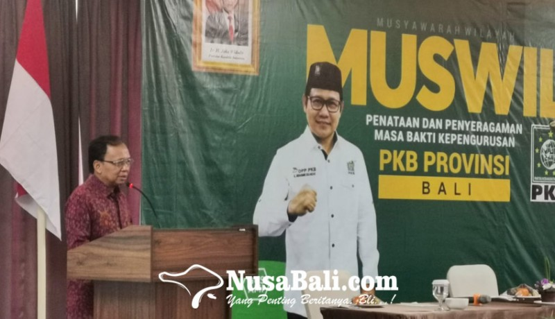 www.nusabali.com-walau-tanpa-kursi-gubernur-koster-tetap-minta-dukungan-pkb