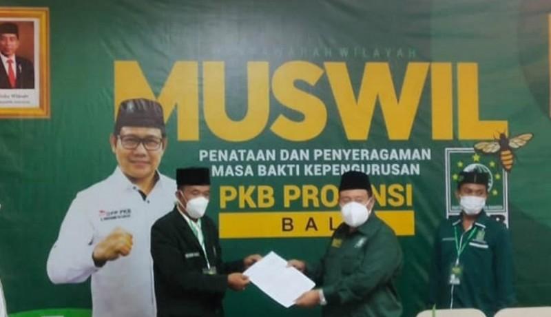 www.nusabali.com-bambang-sutiyono-kembali-pimpin-dpw-pkb-bali