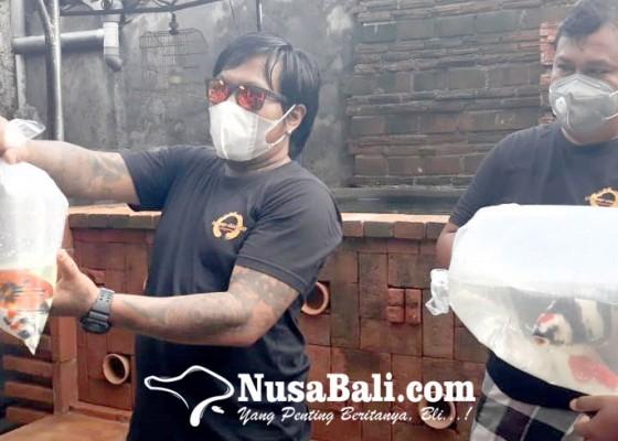 Nusabali.com - komunitas-dangap-dangap-manajemen-punia-ikan-koi-ke-pura