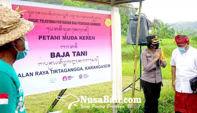 www.nusabali.com-kadis-pertanian-resmikan-p4s-subak-embukan