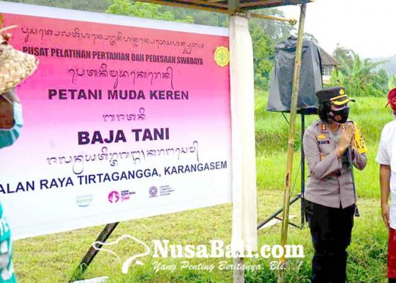 Nusabali.com - kadis-pertanian-resmikan-p4s-subak-embukan