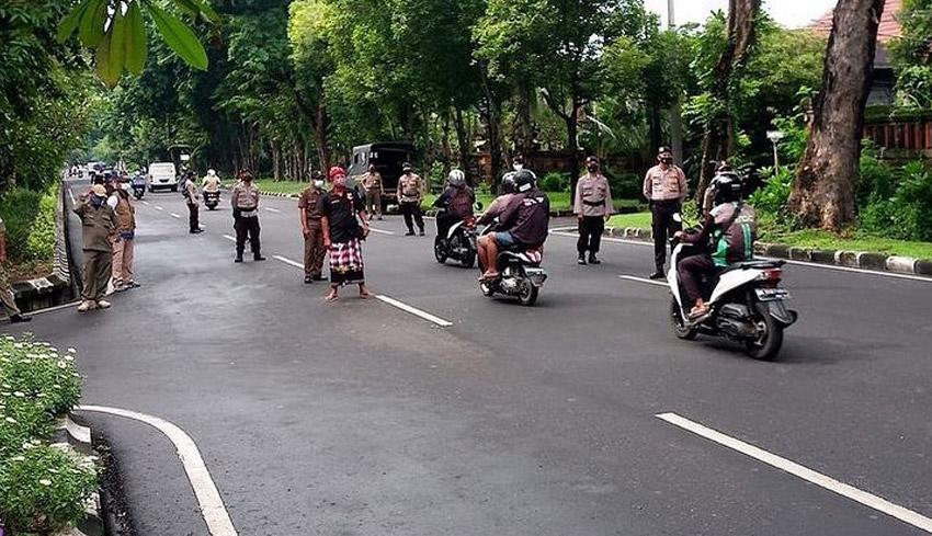 NUSABALI.com - Denpasar Berlakukan PPKM Kelurahan/Desa ...