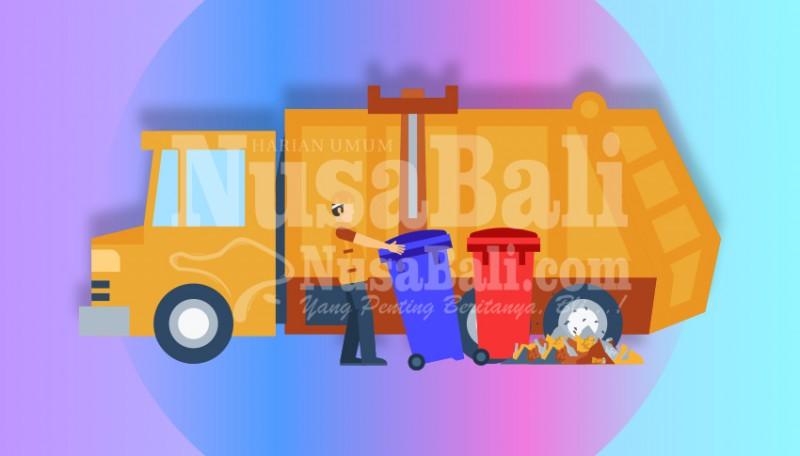 www.nusabali.com-tim-biru-dinas-pupr-angkut-2-ton-sampah-per-hari