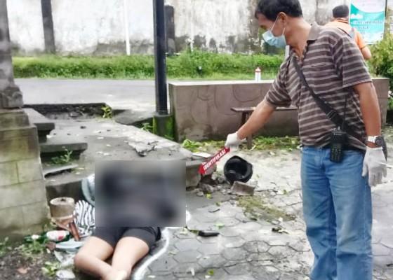 Nusabali.com - pelajar-tewas-tabrak-bataran-sanggah