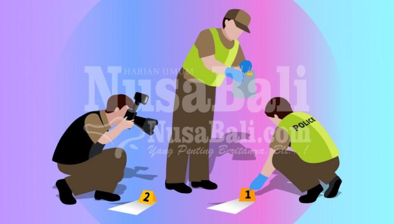 www.nusabali.com-hujan-deras-truk-boks-terguling