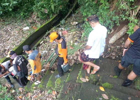 Nusabali.com - saluran-irigasi-subak-besang-pegending-longsor