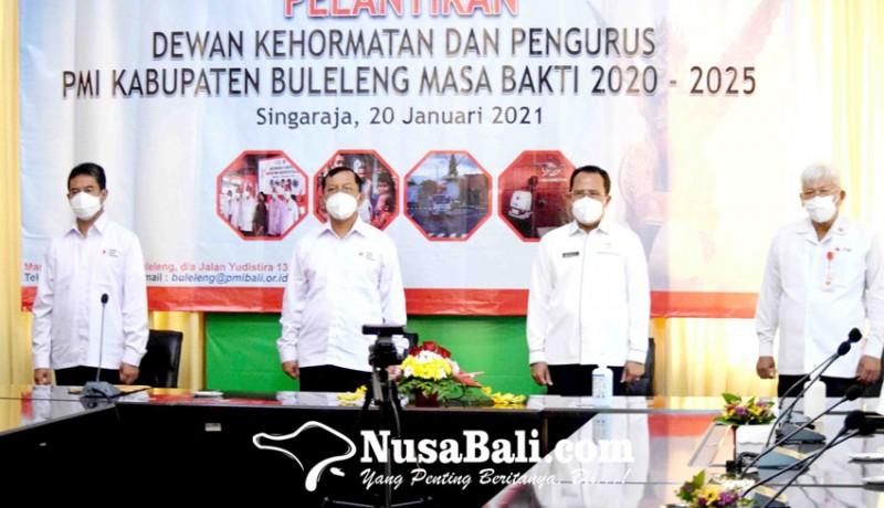 www.nusabali.com-pengurus-pmi-buleleng-dilantik