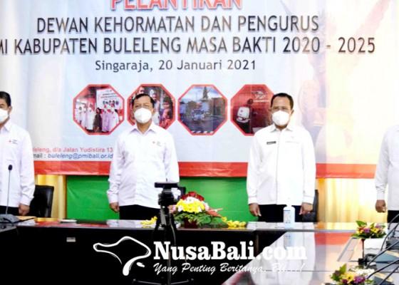 Nusabali.com - pengurus-pmi-buleleng-dilantik