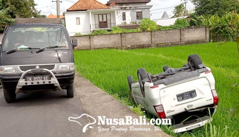 www.nusabali.com-taxi-terguling-ke-sawah-wna-selamat
