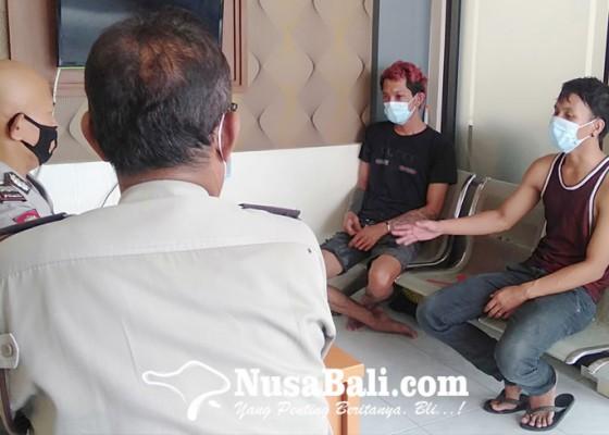 Nusabali.com - dua-sahabat-adu-jotos-di-by-pass-sanur