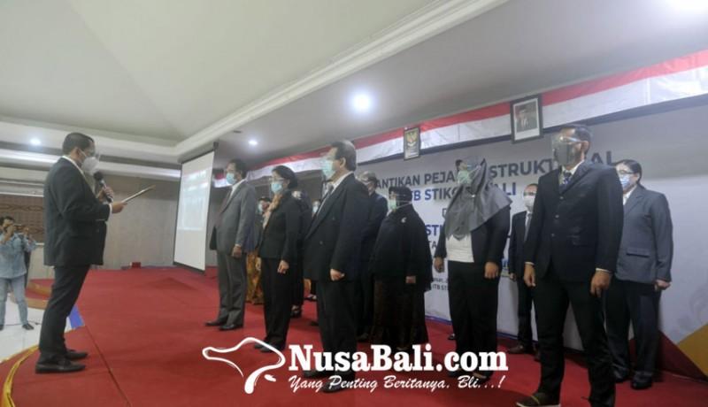 www.nusabali.com-rektor-itb-stikom-lantik-pejabat-struktural