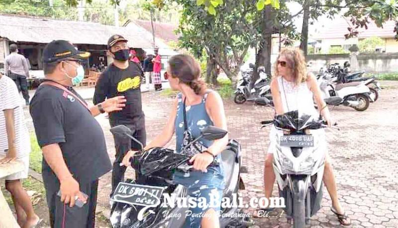 www.nusabali.com-delapan-wisatawan-terjaring-tanpa-masker-yang-benar