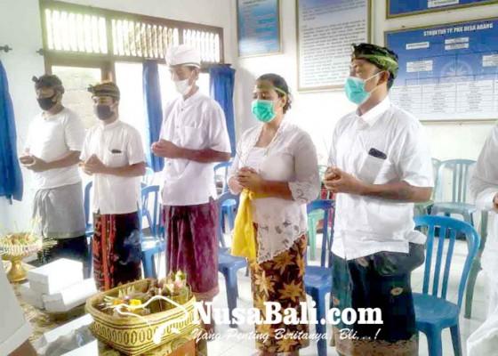Nusabali.com - dikarantina-anggota-bpd-abang-batal-dilantik