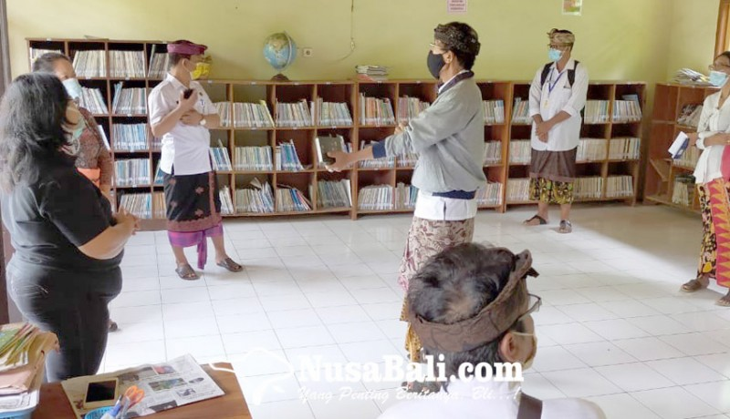 www.nusabali.com-dispustaka-monitoring-lima-perpustakaan-sd
