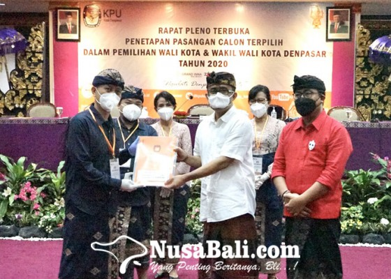 Nusabali.com - jaya-wibawa-walikota-dan-wawali-terpilih