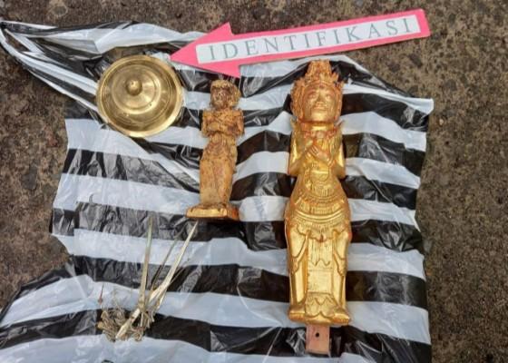Nusabali.com - heboh-patung-diduga-pratima-ditemukan-tergeletak-di-bendungan-bagian-berharga-raib