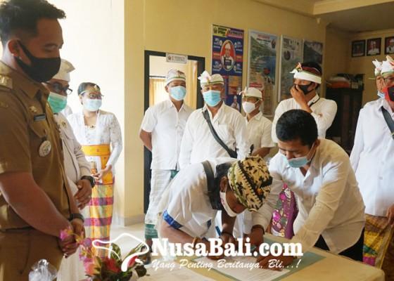 Nusabali.com - usai-dilantik-bpd-purwakerti-pilih-ketua