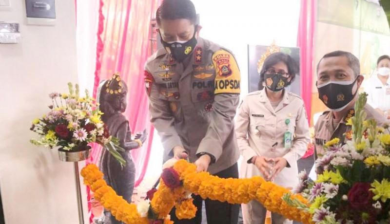 www.nusabali.com-kapolda-resmikan-laboratorium-pcr-rs-bhayangkara