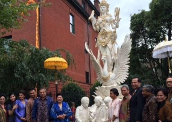 Nusabali.com - ada-patung-dewi-saraswati-di-washington-dc-begini-sejarahnya