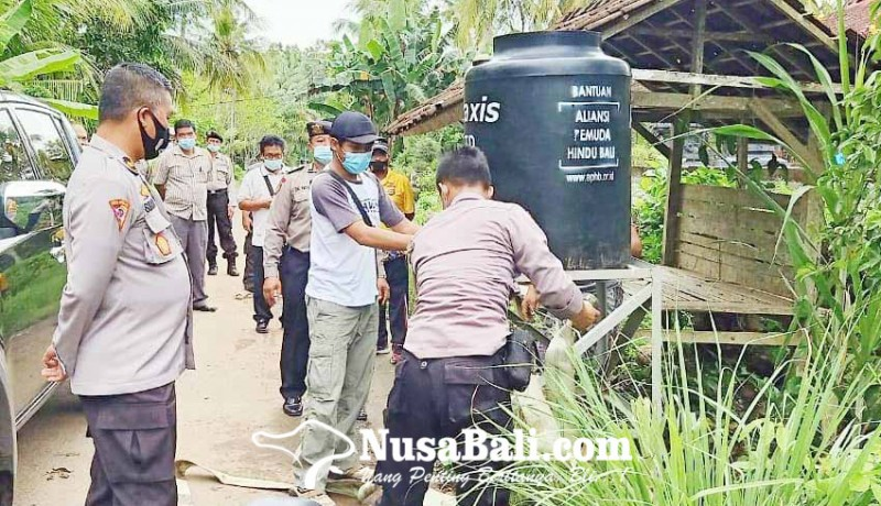 www.nusabali.com-banjir-di-melaya-warga-kesulitan-air-bersih