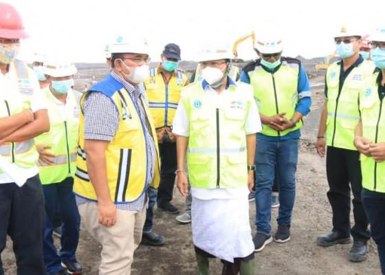 Nusabali.com - gubernur-koster-tinjau-pembangunan-pusat-kebudayaan-bali-di-desa-gunaksa