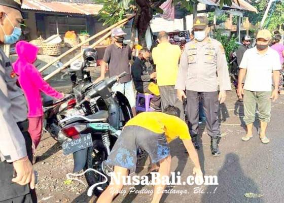 Nusabali.com - tanpa-helm-dan-masker-dihukum-push-up