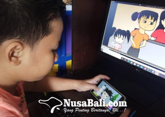 Nusabali.com - siswa-sd-negeri-7-benoa-bikin-animasi-edukasi