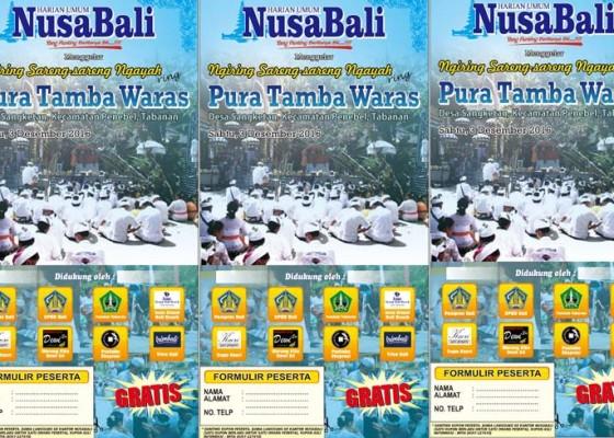 Nusabali.com - ngiring-sareng-sareng-ngayah