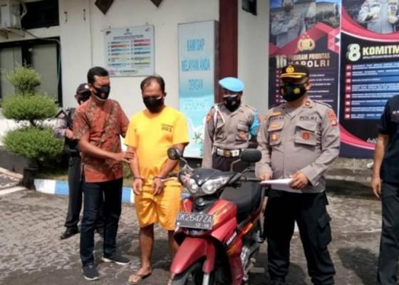 Nusabali.com - motor-teman-digadai-rp-2-juta-di-gilimanuk