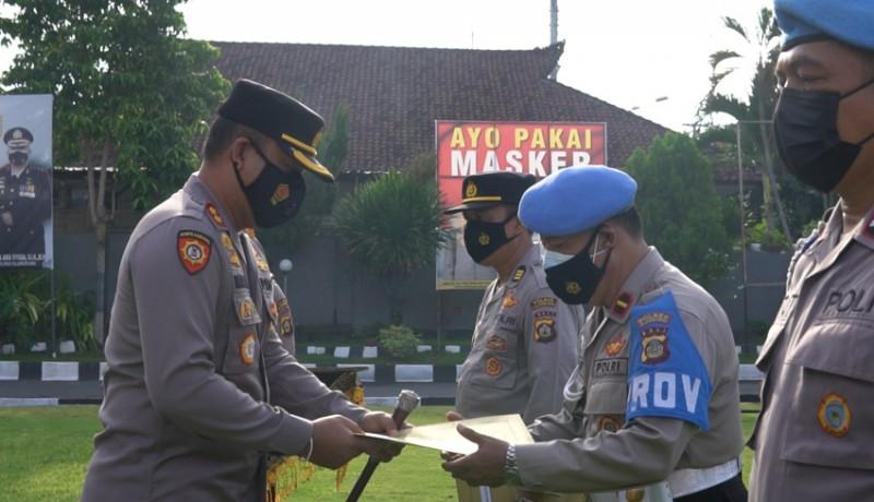 www.nusabali.com-13-personel-polres-klungkung-mendapat-penghargaan