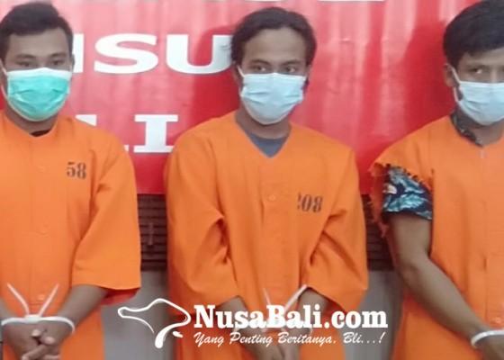 Nusabali.com - bobol-atm-miliaran-rupiah-tiga-petani-asal-ntb-diringkus-polda-bali