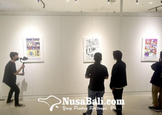 Nusabali.com - fakultas-seni-rupa-dan-desain-isi-pamerkan-karya-mahasiswa-baru