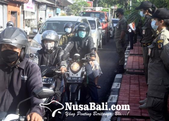 Nusabali.com - kepatuhan-pakai-masker-di-denpasar-95-persen