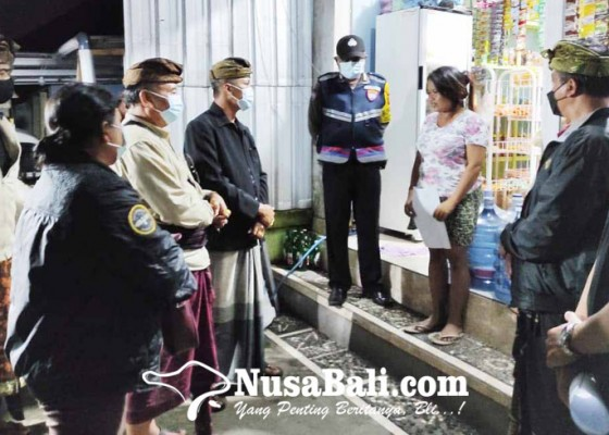 Nusabali.com - masuk-zona-merah-satgas-bebalang-gencarkan-yustisi