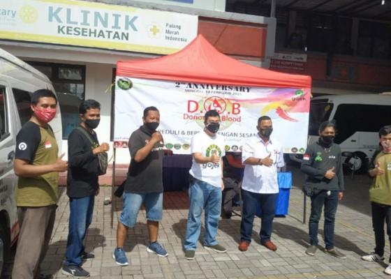 Nusabali.com - driver-online-bali-rayakan-anniversary-lewat-aksi-donor-darah