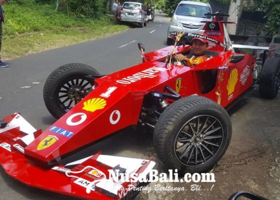 Nusabali.com - dirakit-sejak-agustus-2020-lalu-gunakan-mesin-motor-atv-125-cc
