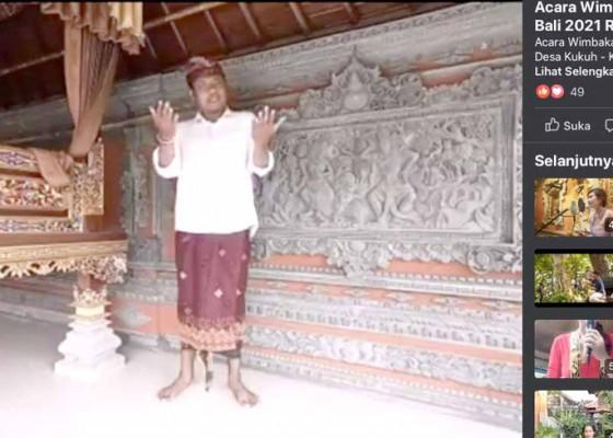 Nusabali.com - desa-kukuh-gelar-lomba-bulan-bahasa-bali-virtual