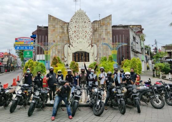 Nusabali.com - xsr-brotherhood-indonesia-mc-gelar-munas-sekaligus-wisata-di-bali