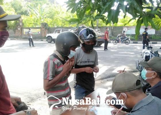 Nusabali.com - 16-pelanggar-dirapid-antigen-saat-sidak-prokes-semua-negatif